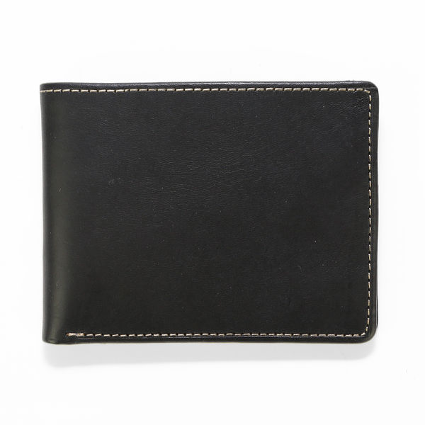 Leather Wallet Havana - Black/Camo