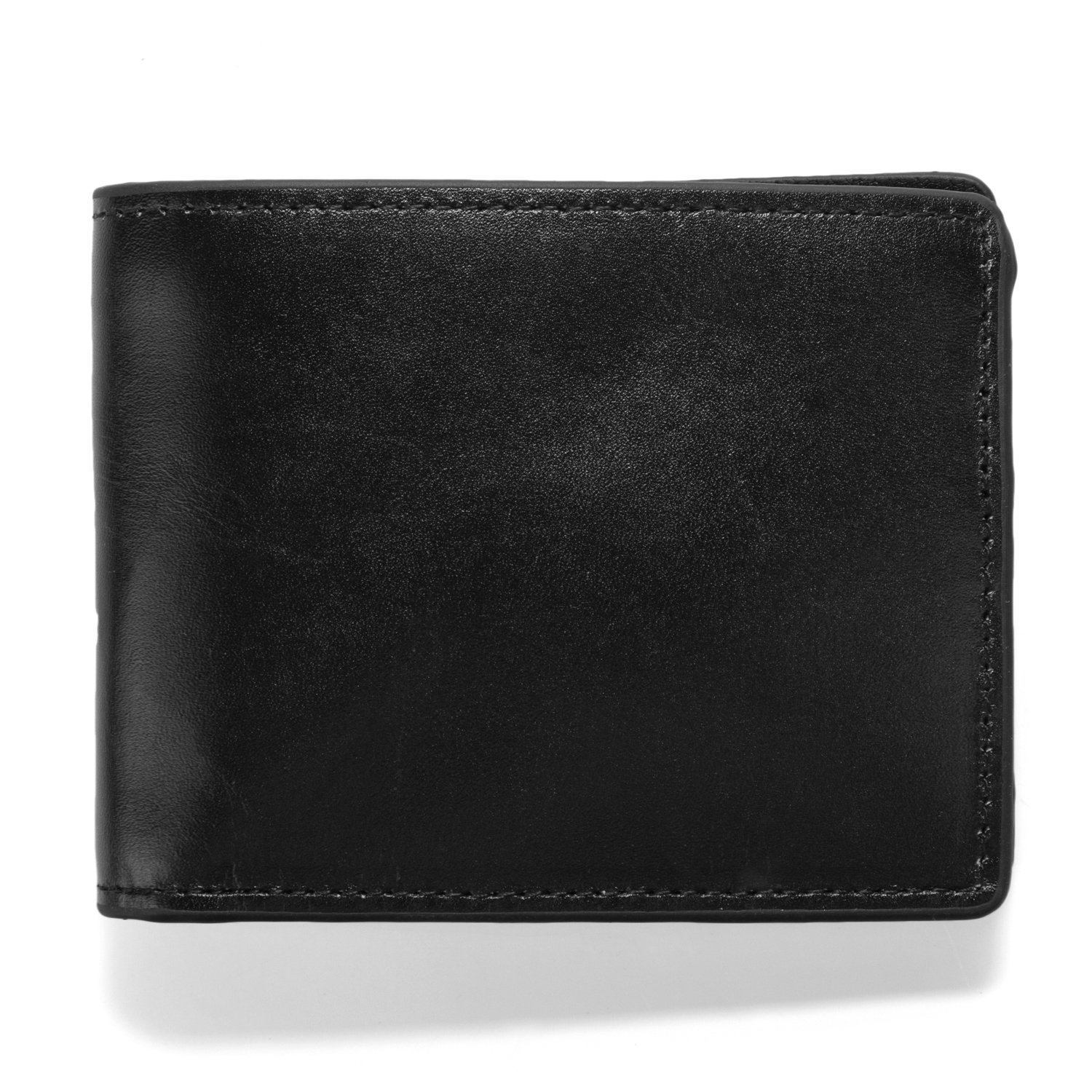 Leather Wallet Havana - Black