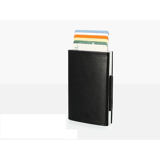 OGON Cascade Card Case Wallet - Black