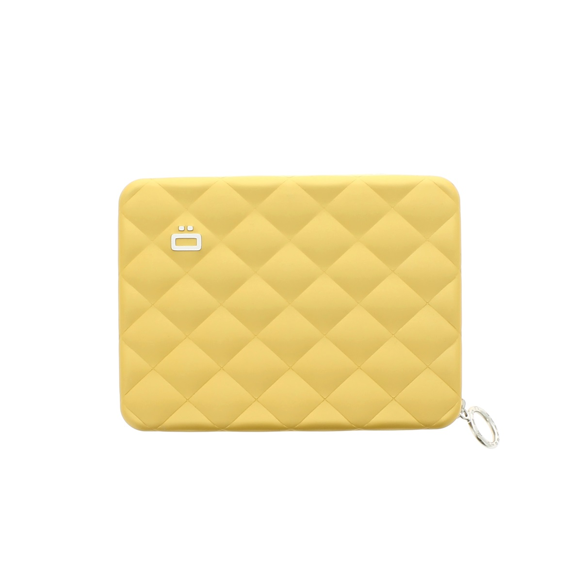 OGON Aluminum Wallet Quilted Passport - Gold