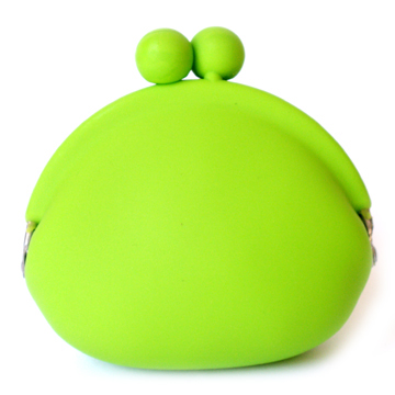 Silicone Coin Wallet - Green