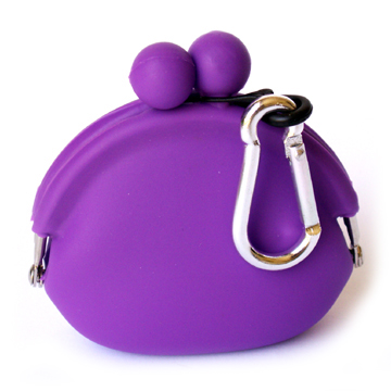 Silicone Wallet POCHIBI - Purple