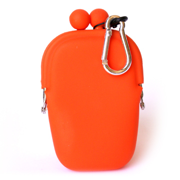 POCHI Silicone Wallet POCHIBII - Orange