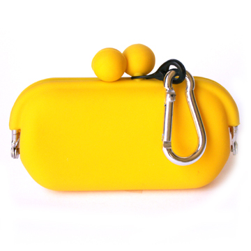 Silicone Wallet POCHIBII - Yellow