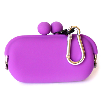 Silicone Wallet POCHIBII - Purple