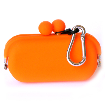 Silicone Wallet POCHIBII - Orange
