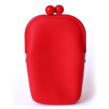 Silicone Wallet POCHII - Red