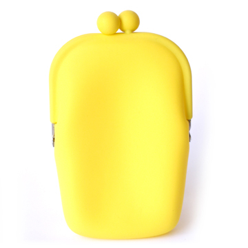 Silicone Wallet POCHII - Yellow
