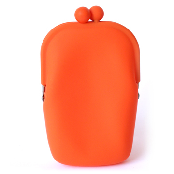 Silicone Wallet POCHII - Orange
