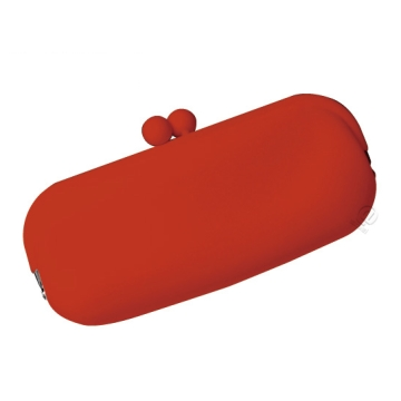 Silicone Wallet POCHIII - Red