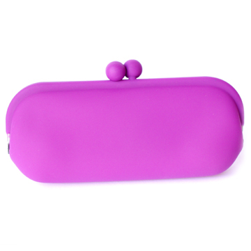 Silicone Wallet POCHIII - Purple