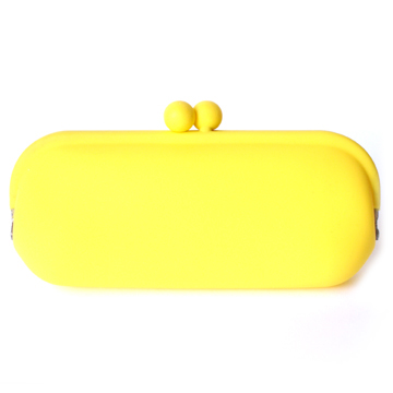 Silicone Wallet POCHIII - Yellow