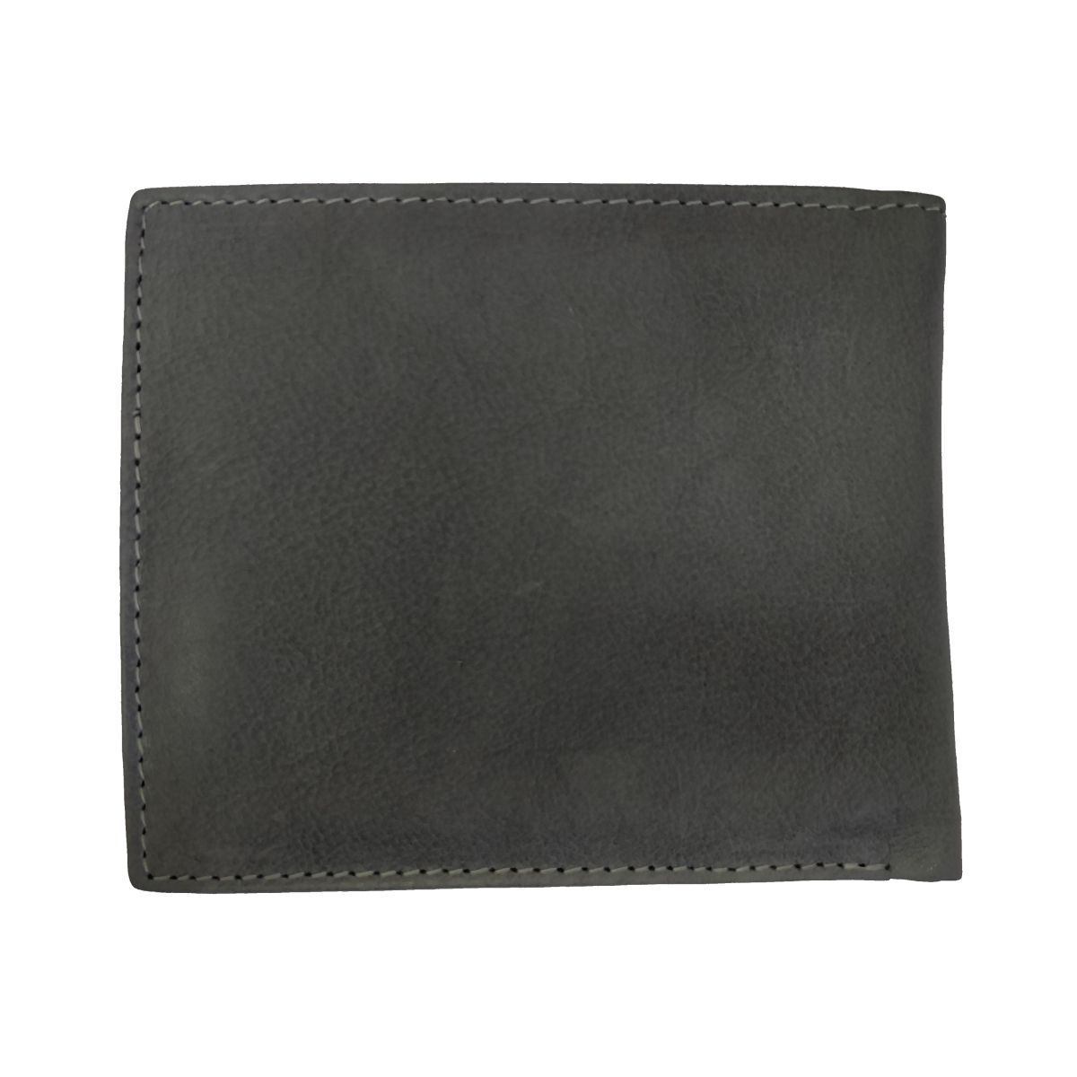 solo Leather Wallet Sixteen Holes With Coin Pouch - Grey
