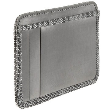 Stewart/Stand Stainless Steel Slot Wallet - Silver