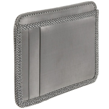 Stainless Steel Minimal Wallet - Silver