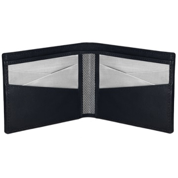 Stewart/Stand Stainless Steel Wallet - Black