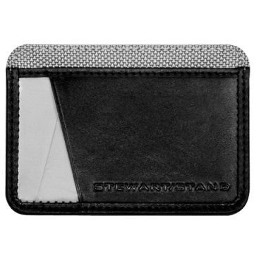 Credit Card Case - Black / Silver