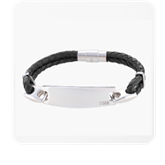 STORM London Zeus ID Bracelet - Black