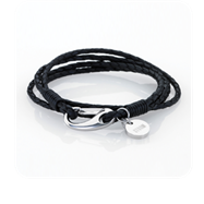 STORM London Jax Wrap Bracelet - Black