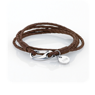 STORM London Jax Wrap Bracelet - Brown