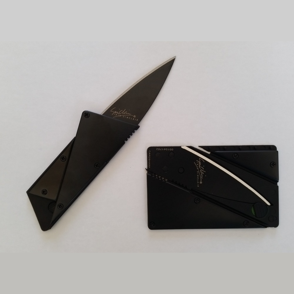 WALLET Aluminum Card Sharp Wallet - Black