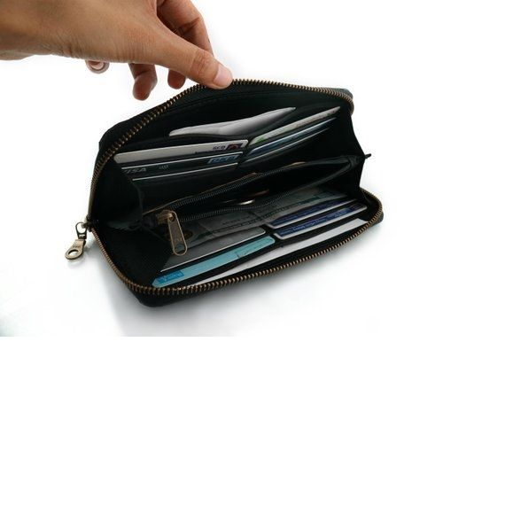 WALLET Recycled Lana Womens Wallet - Black