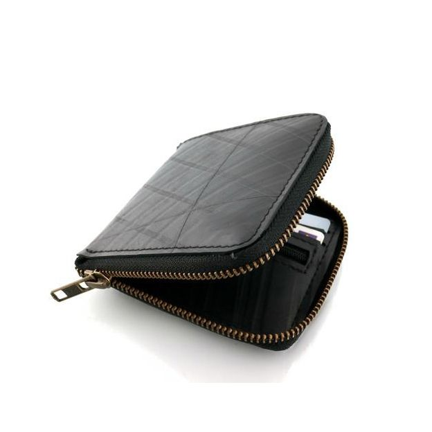 WALLET Recycled Morrison Wallet - Black