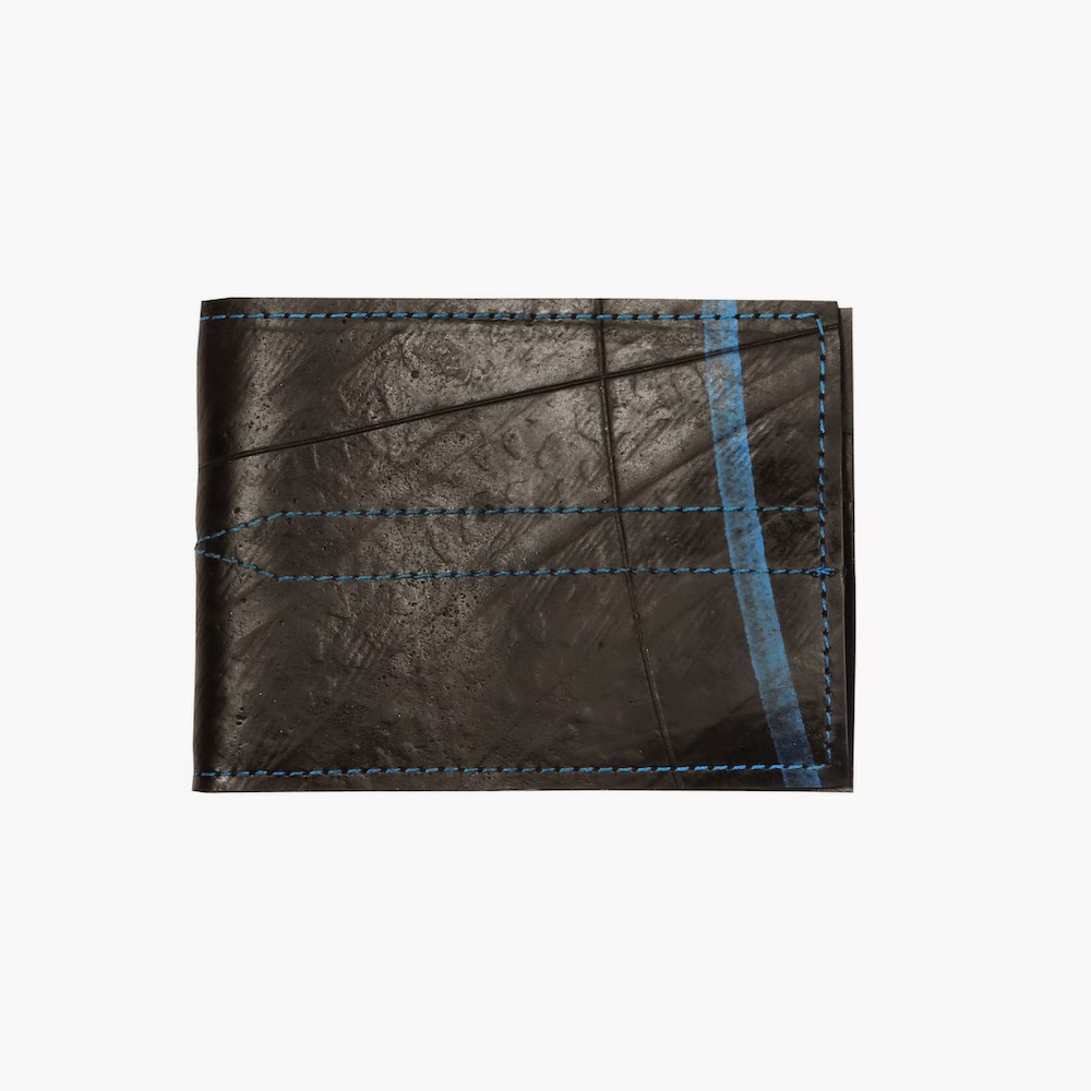 Alchemy Goods Recycled Denny Wallet - Black/Blue