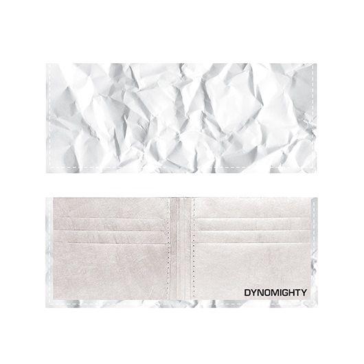 Dynomighty ארנק Tyvek דגם Billfold - דף מקומט