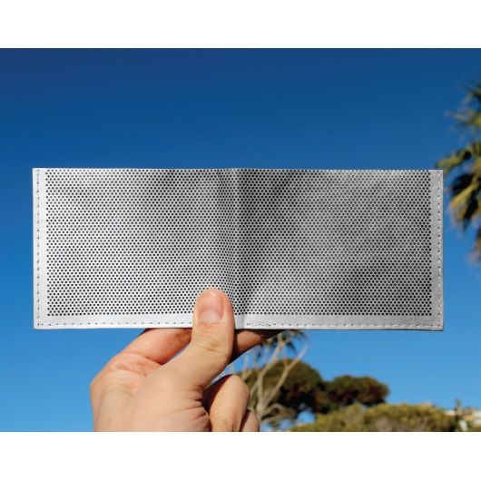 Dynomighty Tyvek Billfold - Metal Grid