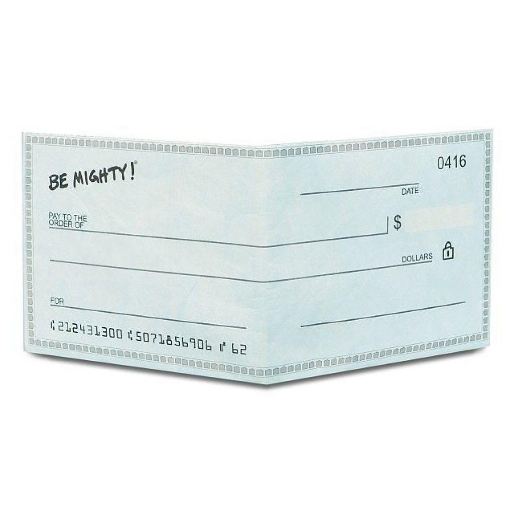 Dynomighty Mighty Wallet - Checkbook