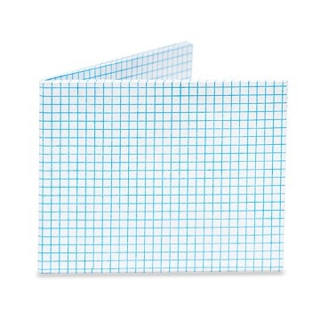 Dynomighty Mighty Wallet - Graph Paper