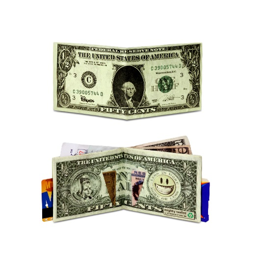Dynomighty Mighty Wallet - Half Dollar