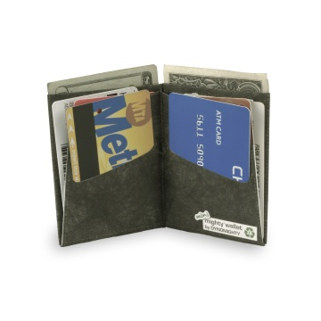 Dynomighty Mini Mighty Wallet - Black Leather