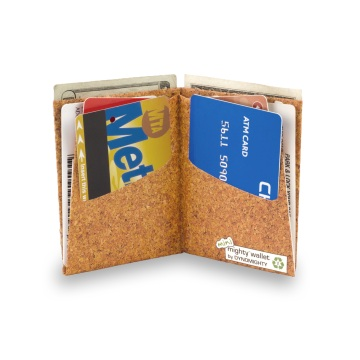 Dynomighty Mini Mighty Wallet - Cork