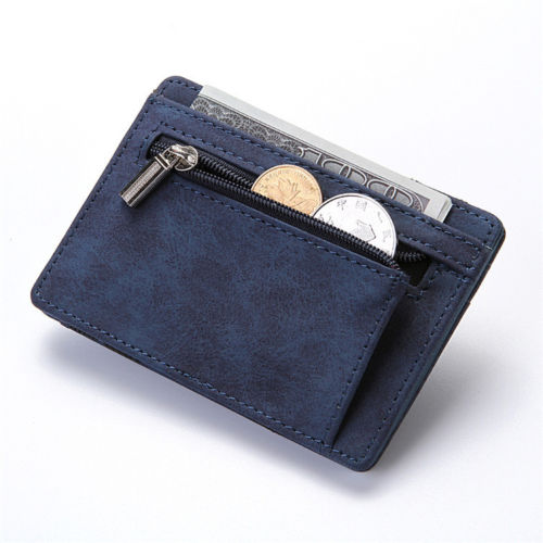 WALLET Magic Wallet With Coin Pocket - Blue