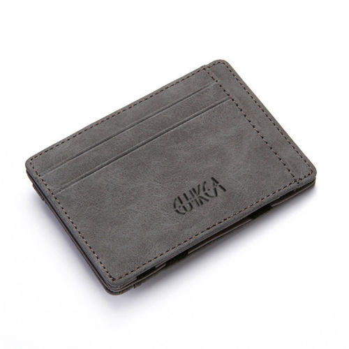 WALLET Magic Wallet With Coin Pocket - Grey