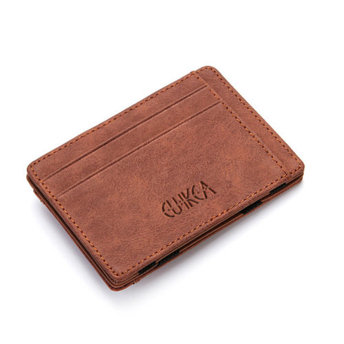 WALLET Magic Wallet With Coin Pocket - Brown