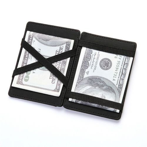 WALLET Magic Wallet With Coin Pocket - Black