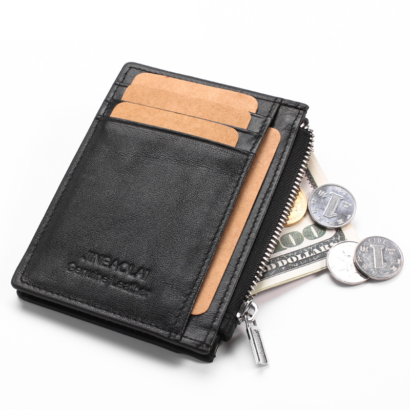 WALLET The Perfect Mens Minimalist Wallet - Black