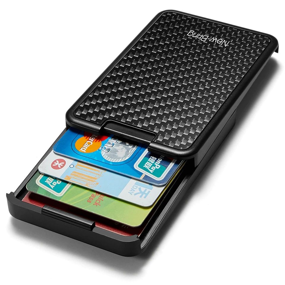 WALLET Slide RFID Wallet - Carbon