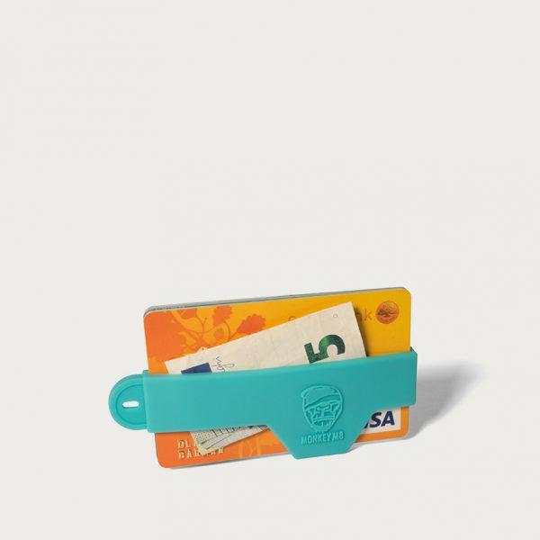 WALLET גומיית כרטיסי אשראי - תכלת