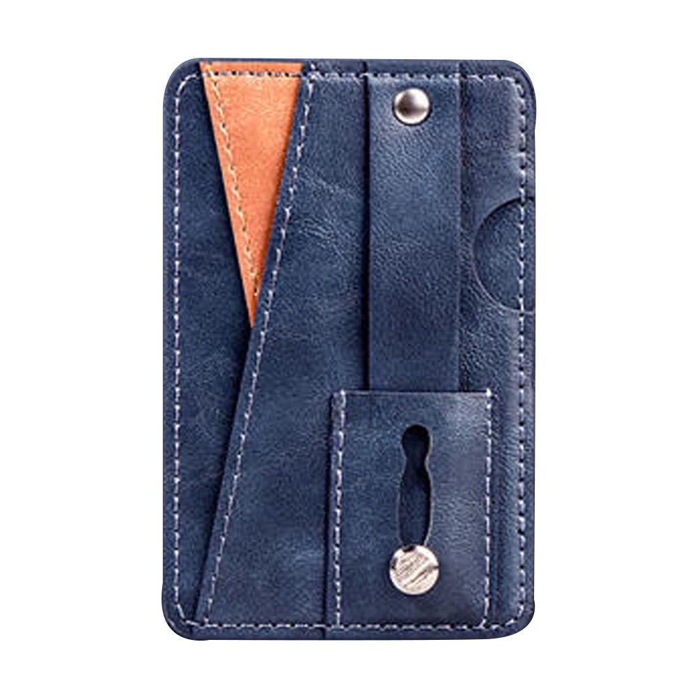 Phone Wallet Card Holder - Blue