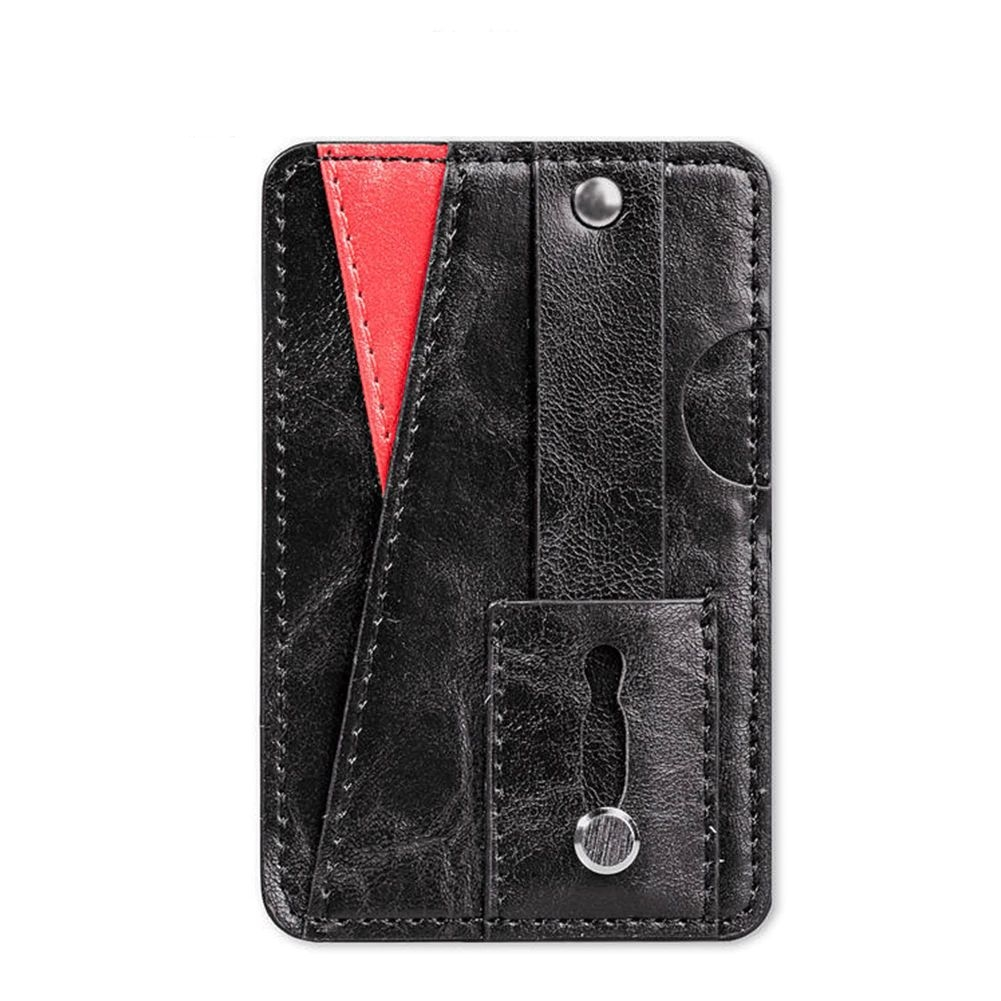 Phone Wallet Card Holder - Black