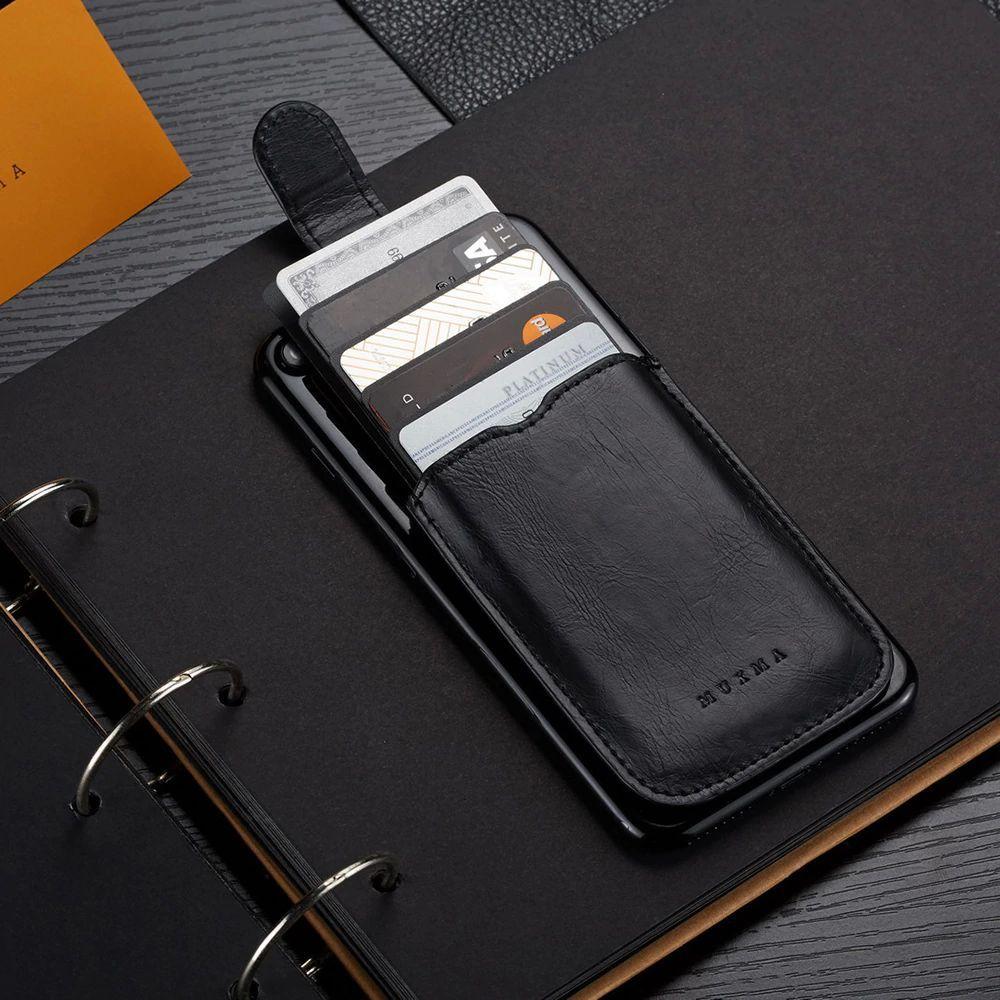 WALLET ארנק כרטיסים לסמארטפון עם RFID - שחור