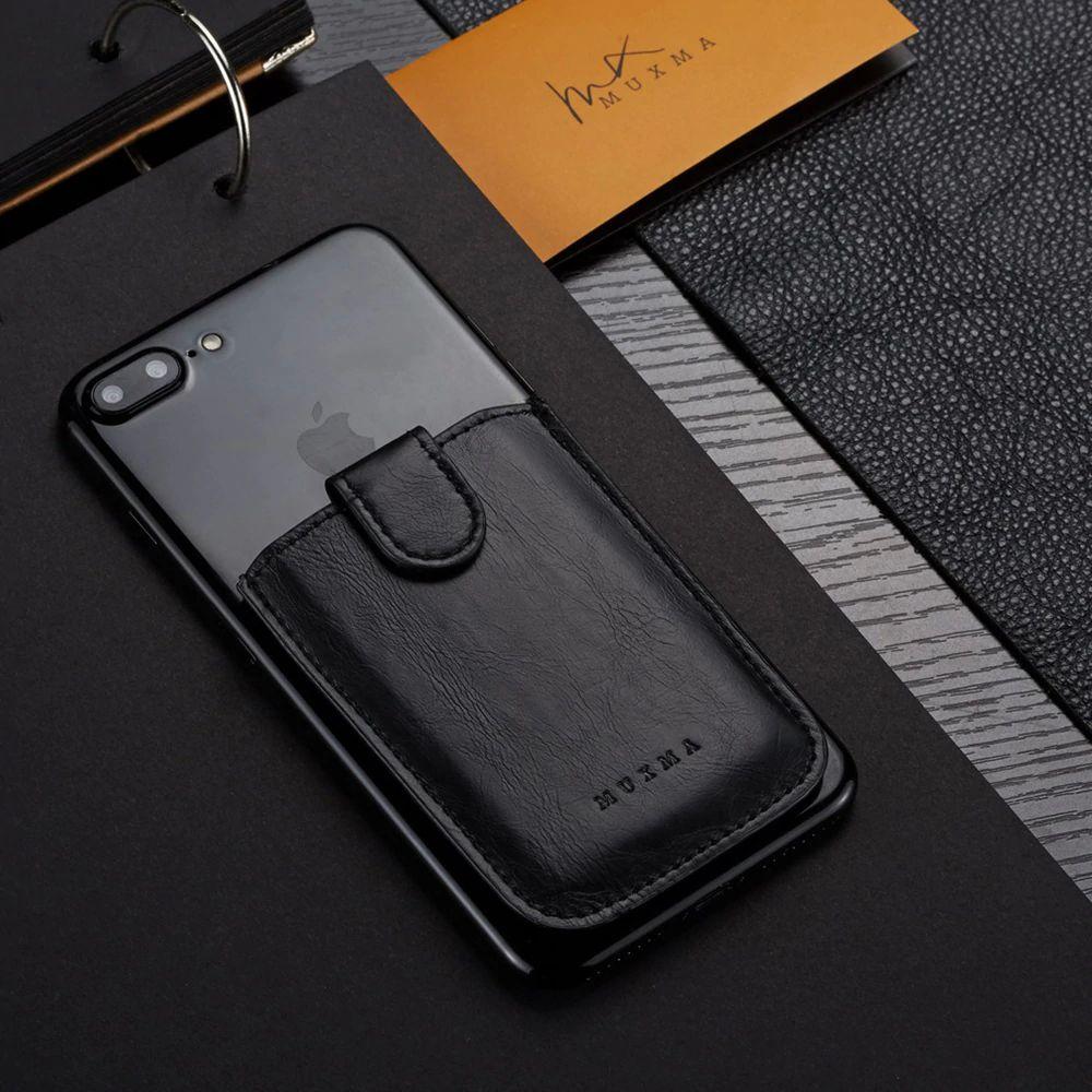 WALLET RFID Phone Wallet Card Holder - Black