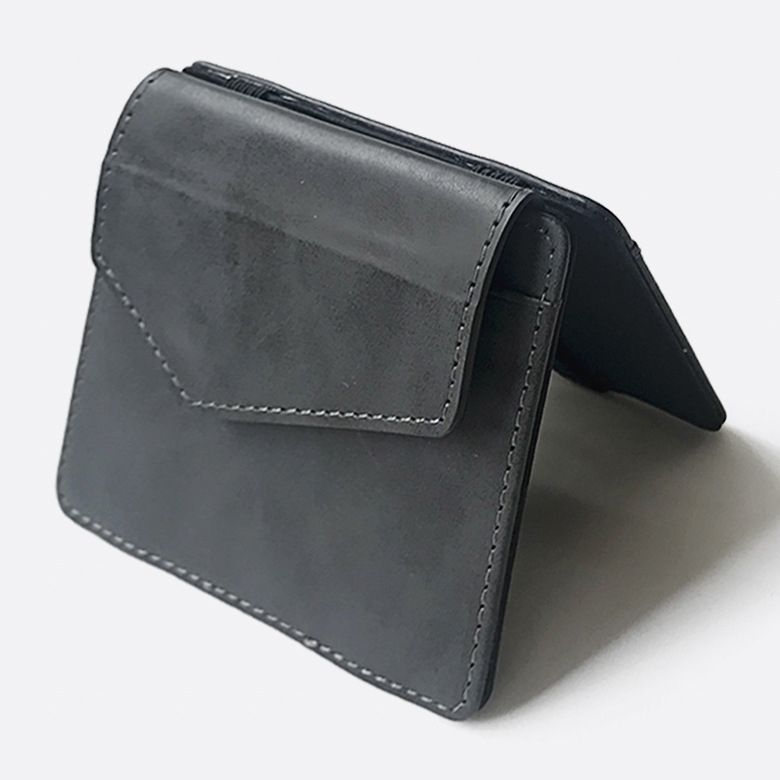 WALLET Magic Wallet With Snap Coin Pocket - Black