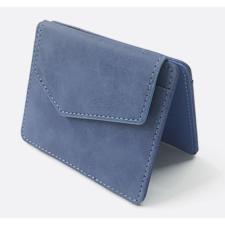 WALLET Magic Wallet With Snap Coin Pocket - Blue