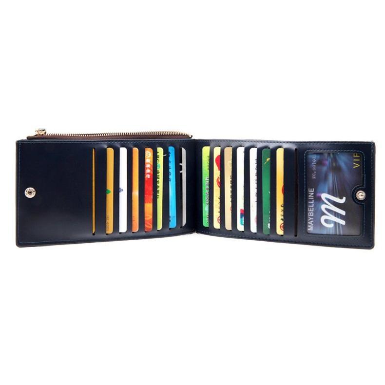 WALLET ארנק דמוי עור ייחודי - שחור