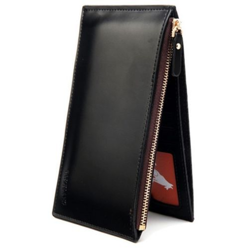 WALLET Unique PU Leather Wallet - Black